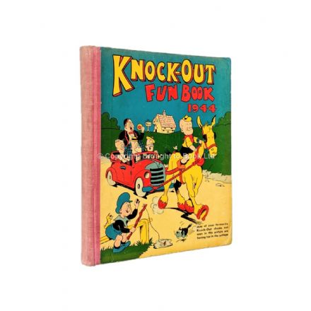 The Knock-Out Fun Book 1944 Published by The Amalgamated Press 1943